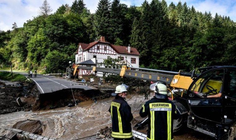 Enchentes na Alemanha e na Bélgica: as impressionantes imagens das inundações que deixaram dezenas de mortos