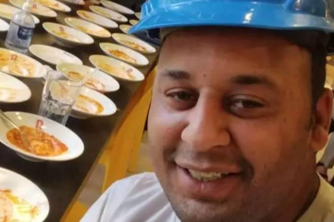 Após comer 15 pratos de massas foi expulso de Restaurante em São Paulo, o pintor João Carlos Apolonio