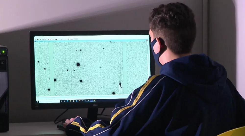 Estudante de Curitiba descobre novo asteroide em projeto da NASA